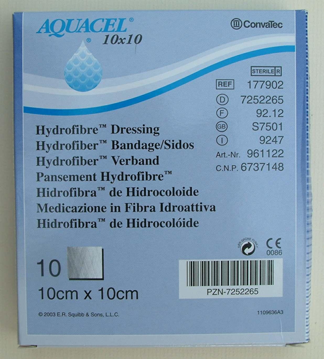 Aquacel Dressings Datacard